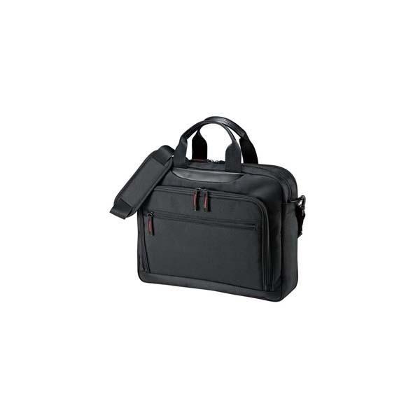 サンワサプライ:マチ拡張PCバッグ BAG-W1BKN