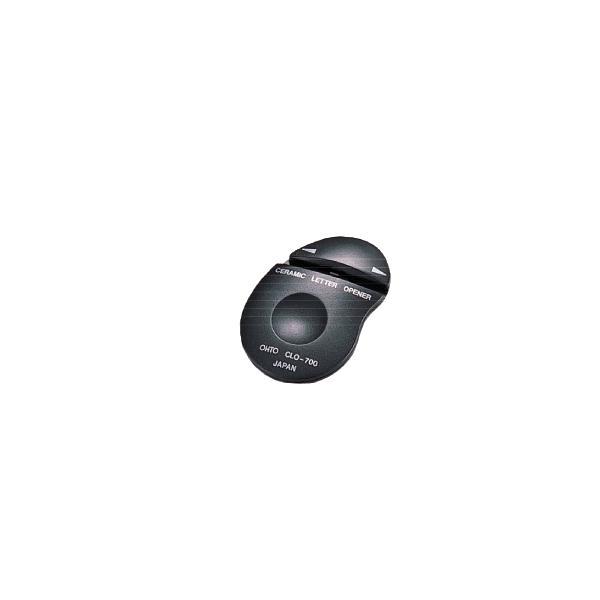 オート:セラミックレターオープナー 両刃タイプ 黒 CLO700クロ 1台 0125611