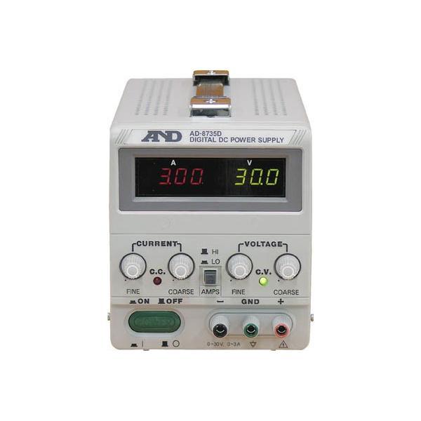 A D 激安挑戦中 直流安定化電源トラッキング動作可能LEDデジタル表示 1台 3239632 AD8735D 新品■送料無料■