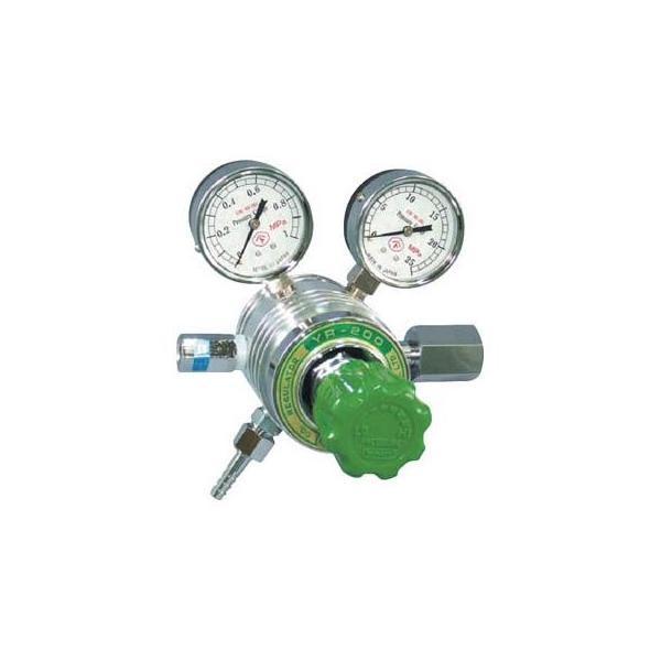 フィン付圧力調整器 YR−200 1個 YR200C タイムセール 4346661 商店