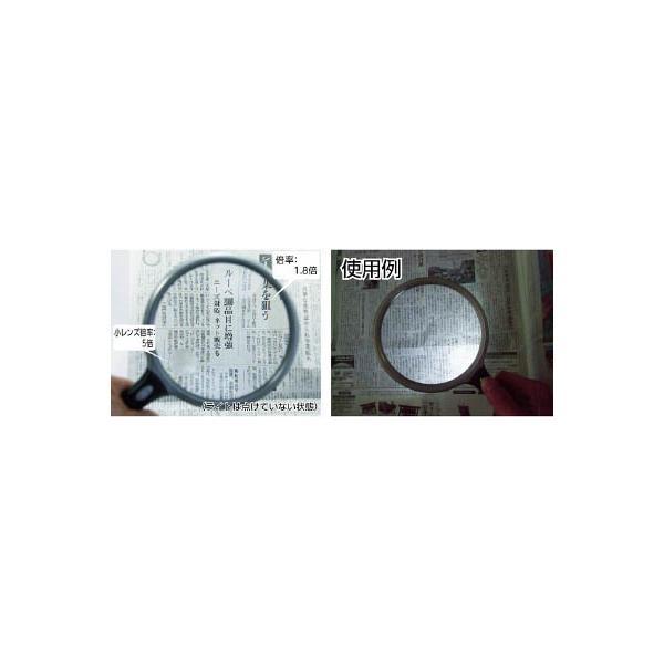 TRUSCO LED付手持ちルーペ Φ130(1個) TL130LED 4789318