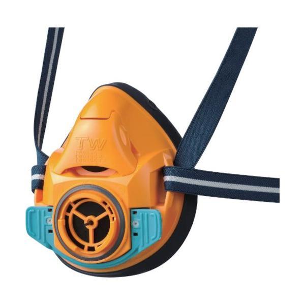 シゲマツ 防毒マスク・防じんマスク TW01SC オレンジ L TW01SCORL 8356576