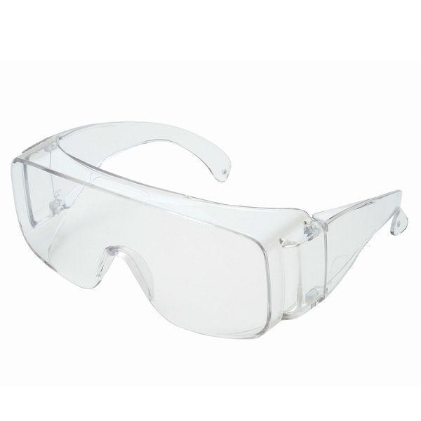 理研化学:保護メガネ(作業・花粉症・防じん・PM2.5・眼鏡併用可) RS-06