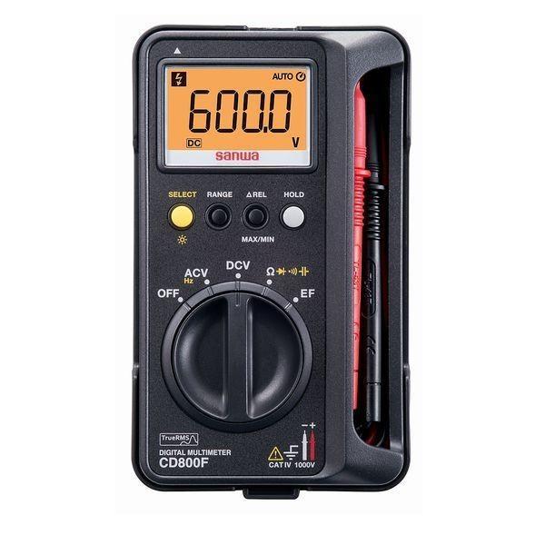 三和電気計器:デジタルマルチメータ CD800F