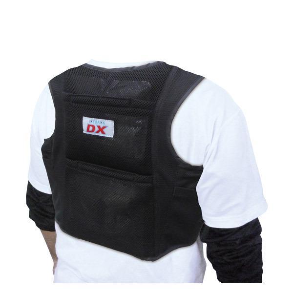 ブレイン:アイスバックDX(保冷剤付) 胸ベルト付き BR-552 冷却ベスト 暑さ対策 熱中症対策 クールベスト アイスベスト