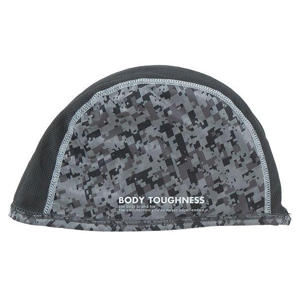おたふく手袋:冷感・消臭 パワーストレッチ ヘッドキャップ 迷彩 JW-611-CAM-F