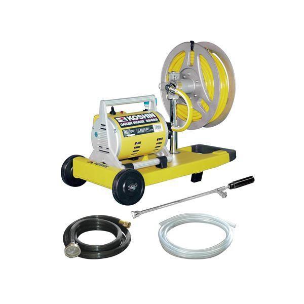 (代引不可)100円OFFクーポン 工進:ガーデンスプレイヤー 電動噴霧器 MS-252R re-gdn
