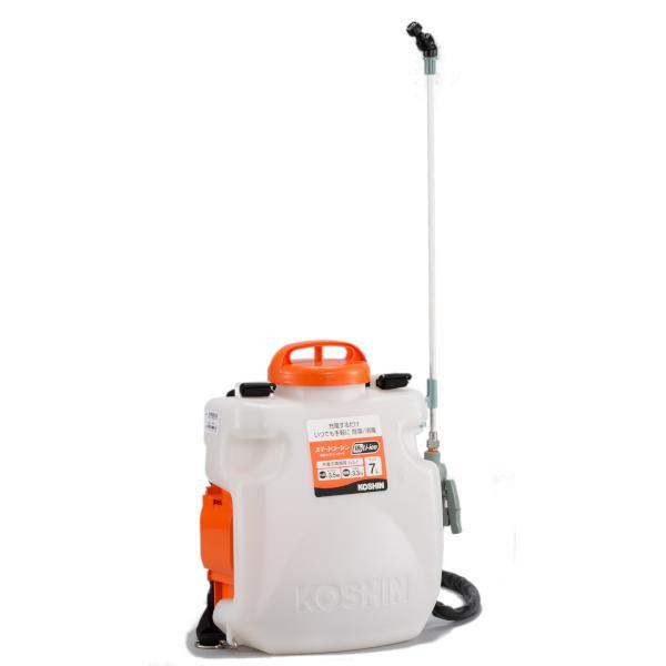 工進:スマートコーシン 充電式噴霧器 SLS-7N re-gdn ec-ksn