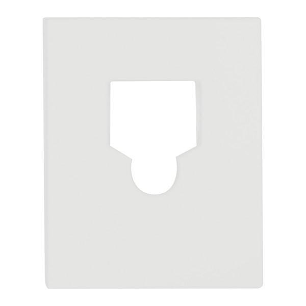 森田アルミ工業:室内物干しワイヤー(pid 4M)取付フック部品セット(フックカバーのみ)