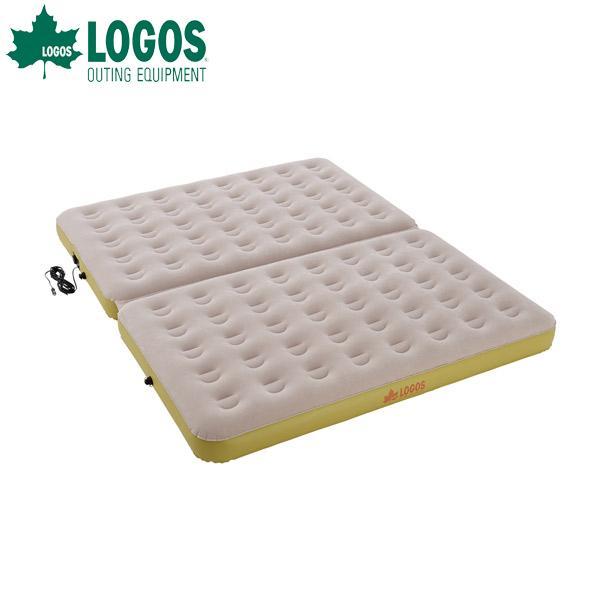ロゴス(LOGOS):楽ちんオートキャンプベッド270(10mロングコード) 73853050