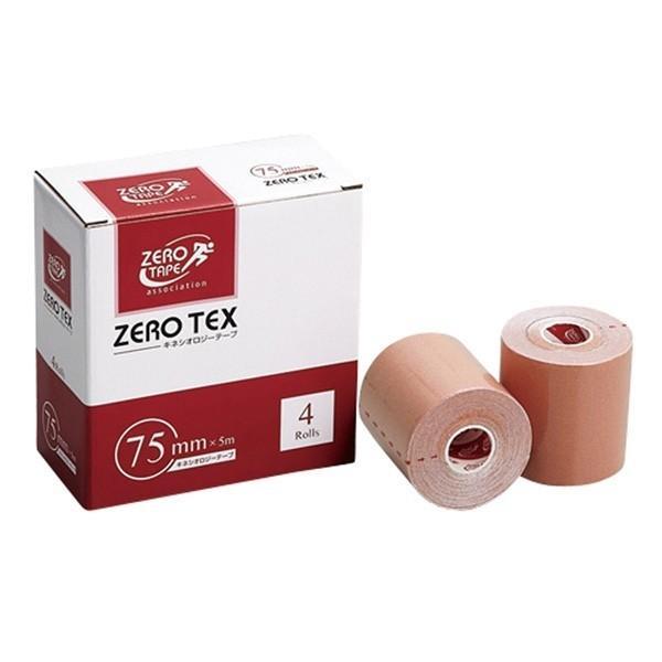 日進医療器:ゼロテックスキネシオテープ75mm×5M 4巻入 783423