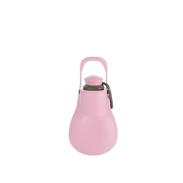 リッチェル:お散歩ハンディシャワー S ライトピンク ペット 犬 散歩 給水 水 補給 マナー ペットボトル
