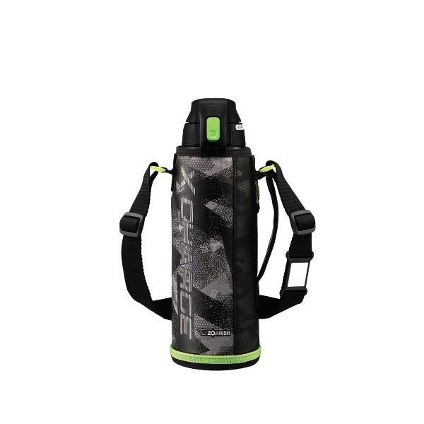 象印マホービン:ステンレスクールボトル 「XCHARGE」 ライムグレー 1.0L カジュアル 保冷専用 SD-FB10-HG