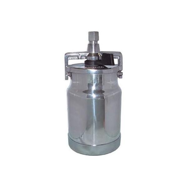 デビルビス 吸上式塗料カップアルミ製レバータイプ(容量1000cc)G3/8(1個) KR5551 3248488