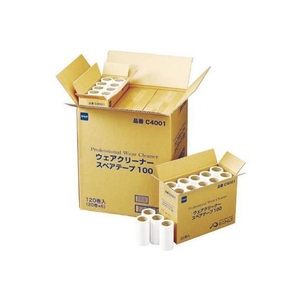 ニトムズ プロフェッショナルウェアクリーナースペアテープ100 20巻入り(1箱) C4001 3809242