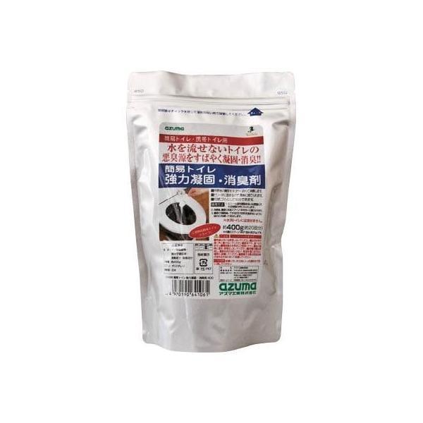 azuma CH888簡易トイレ強力凝固・消臭剤400(1個) 705384300 7615990