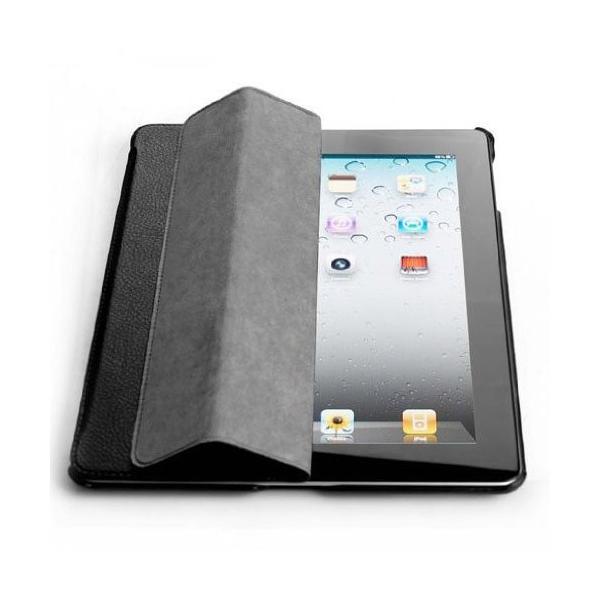 【日本正規代理店品】 JISONCASE 【iPad 2/第3世代iPad/第4世代iPad用バックケース&スマートカバー】 マグネチックスマートレザーケース 革|cocoto-case|04