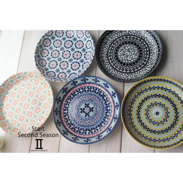 5枚セット 美しいボレスワヴィエツの街 セカンドシーズン パンプレート 取り皿 ポタリー風 洋食器 小皿 食器セット,ギフト 花柄 リバティプリント|cocottepot|02