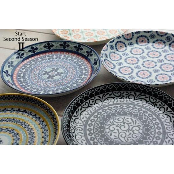 5枚セット 美しいボレスワヴィエツの街 セカンドシーズン パンプレート 取り皿 ポタリー風 洋食器 小皿 食器セット,ギフト 花柄 リバティプリント|cocottepot|04