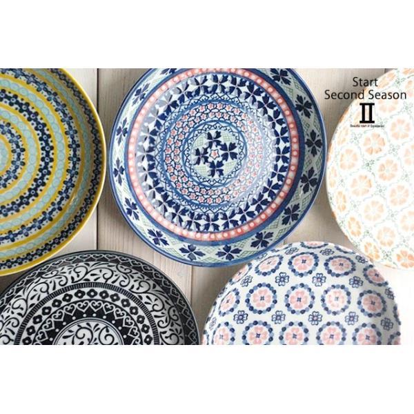 5枚セット 美しいボレスワヴィエツの街 セカンドシーズン パンプレート 取り皿 ポタリー風 洋食器 小皿 食器セット,ギフト 花柄 リバティプリント|cocottepot|05