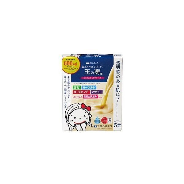 【2箱セット】盛田屋 玉の輿 豆乳ヨーグルトシートマスク (ローズヒップとアサイーの力)