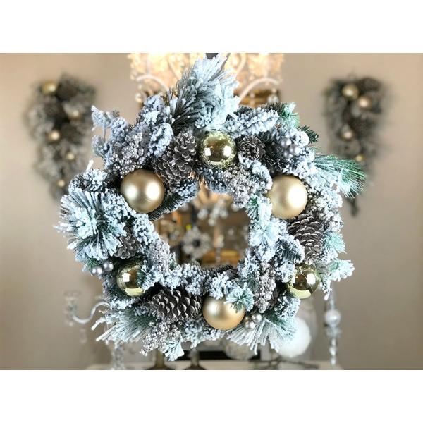 ハルモニア クリスマスリース HM6345 クリスマスまでの期間限定販売 送料無料(一部地域をのぞきます。)