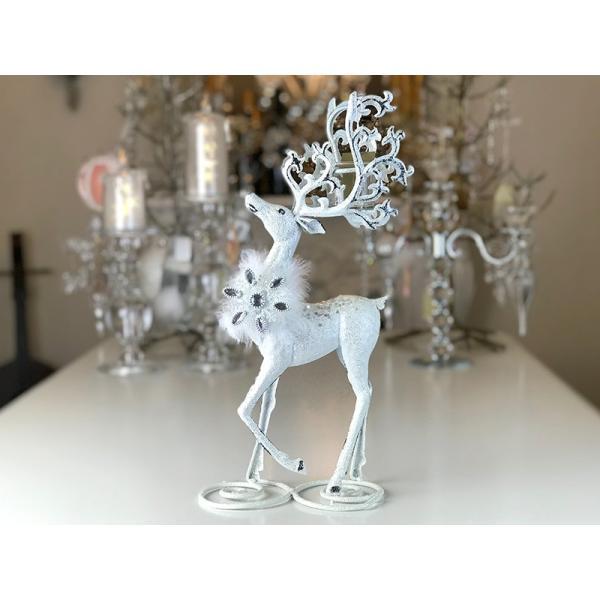 RoomClip商品情報 - ハルモニア White Deer Candle Holder HM6794 クリスマスまでの期間限定販売 送料無料(一部地域をのぞきます。)