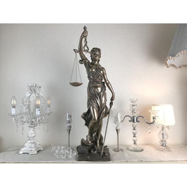 オブジェ・置物 Blind Justice 正義の女神 像 V4-72919