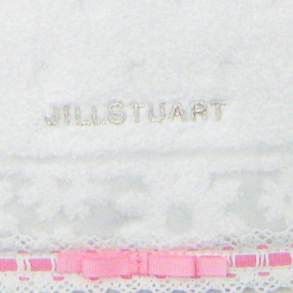 タオルハンカチ ジルスチュアート ホワイト ミニタオル シンプル 白 coeurfacteur 07