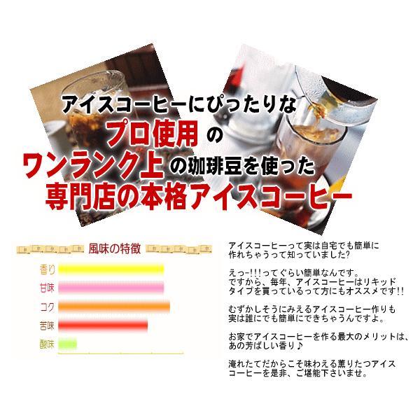 アイスコーヒー豆 深煎り(フレンチロースト)-250g (メール便)|coffeebaka|03