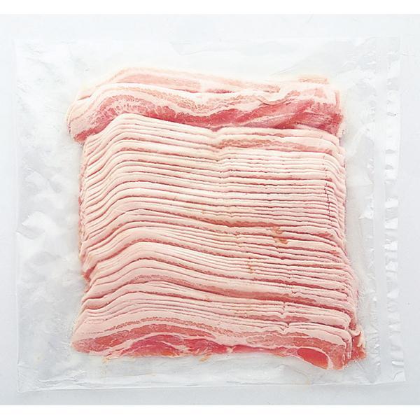 (地域限定送料無料)業務用 お店のための 豚バラスライス 冷凍 1kg 1ケース(10入)(冷凍)(293328000ck)