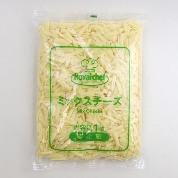 (地域限定送料無料)業務用  (単品) ロイヤルシェフ ミックスチーズ 1kg 3袋(計3袋)(冷蔵)(710226000sx3k)