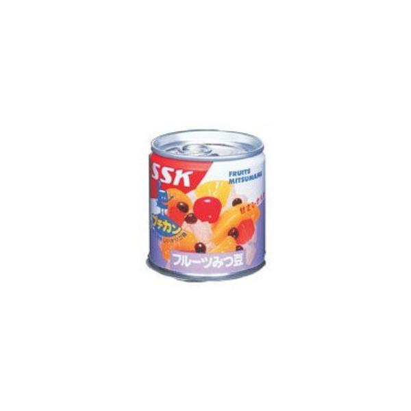 SSK 甘さひかえめフルーツみつ豆 195g×24缶(1ケース)