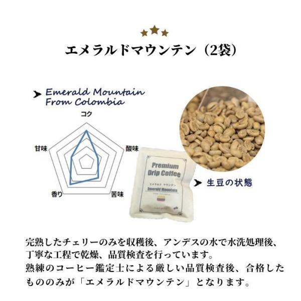 母の日 プレゼント コーヒーギフト ドリップバッグ ハワイコナ ブルーマウンテン エメラルドマウンテン入り 詰め合わせ20袋|coffeeyabu|11