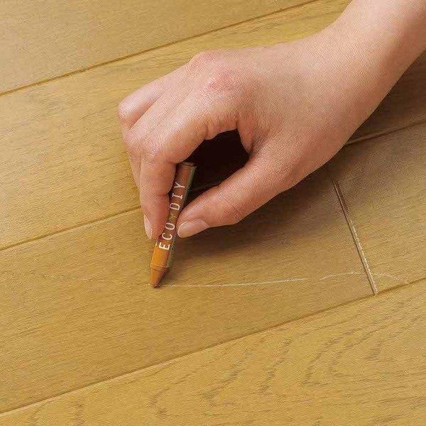 キズ隠し 塗装道具 床 補修 傷消し フローリングキズ隠しクレヨン 「メール便」コジット|cogit|06