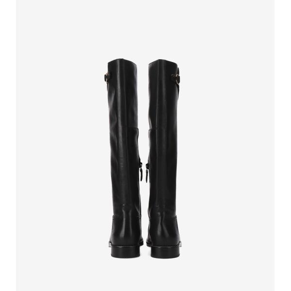 コールハーン Colehaan レディース シューズ ブーツ & ブーティー ハリントン グランド ライディング ブーツ womens W12033 ブラック レザー