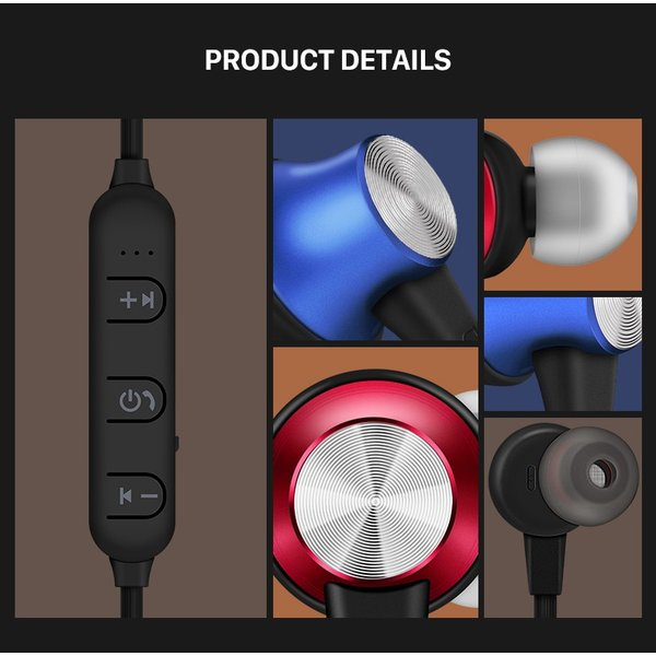 イヤホン Bluetooth 防水 イヤフォン ワイヤレス 高音質 ブルートゥース マグネット collaborn-plus 14
