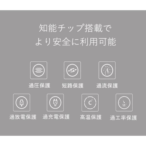 モバイル充電器 モバイルバッテリー スマホバッテリー ワイヤレス PSEマーク|collaborn-plus|10