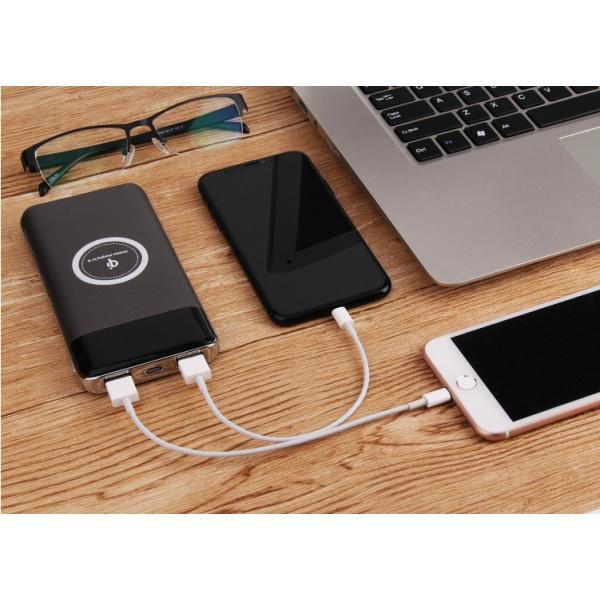 モバイル充電器 モバイルバッテリー スマホバッテリー ワイヤレス PSEマーク|collaborn-plus|11