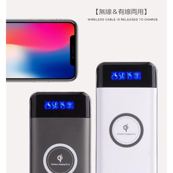 モバイル充電器 モバイルバッテリー スマホバッテリー ワイヤレス PSEマーク|collaborn-plus|05
