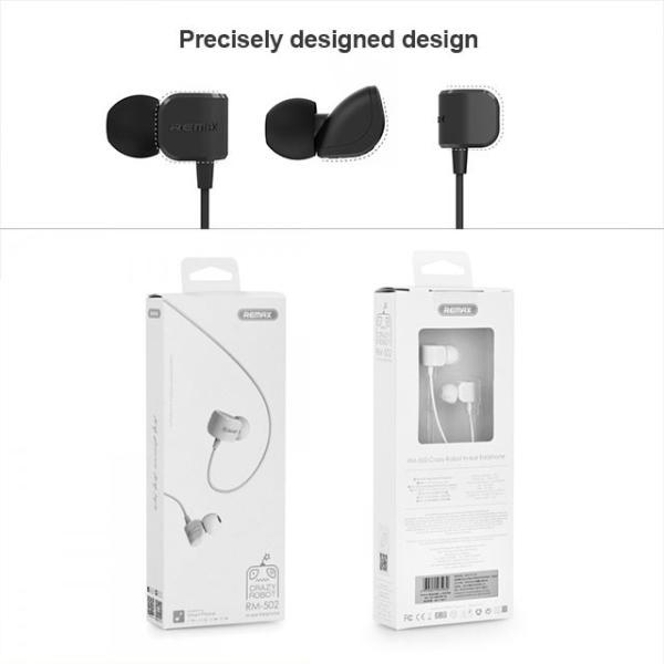 イヤホン Remax 1.2m イヤフォン 高音質 iphone アイフォン android アンドロイド|collaborn-plus|04