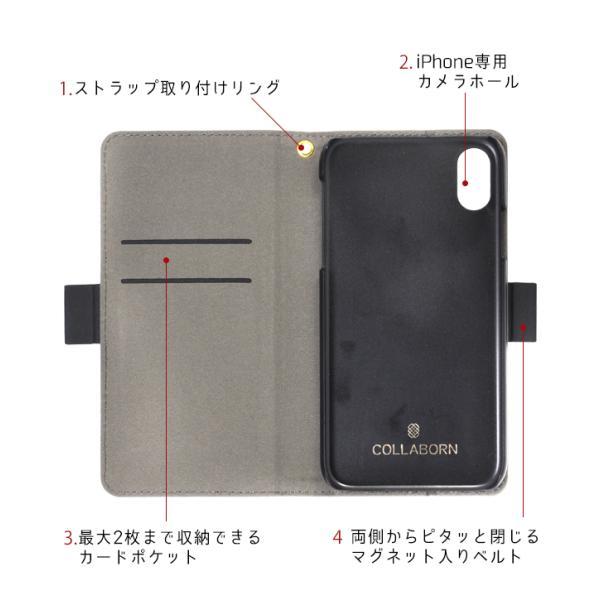 iPhone  スマホケース 手帳型 iphone7/6s/6 ケース おしゃれ スマホケース手帳型|collaborn-plus|08