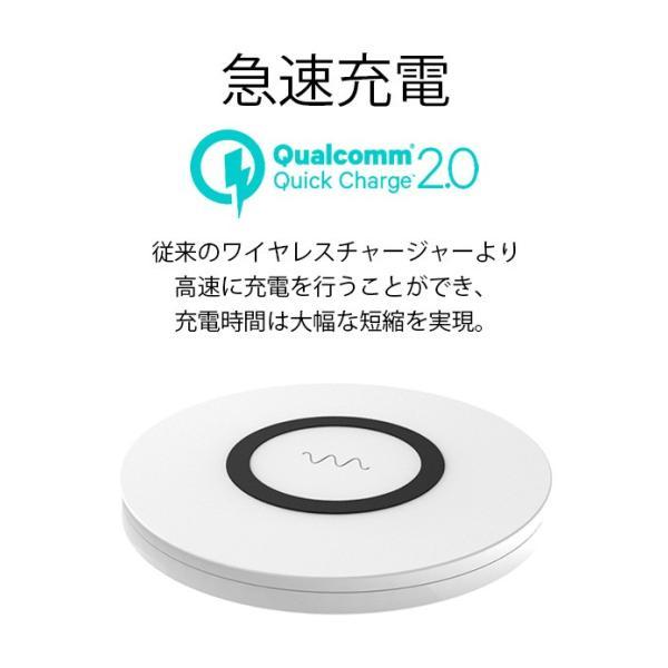 ワイヤレス 充電器 ワイヤレス充電器 アイホン 携帯充電器 充電用バッテリー|collaborn-plus|04