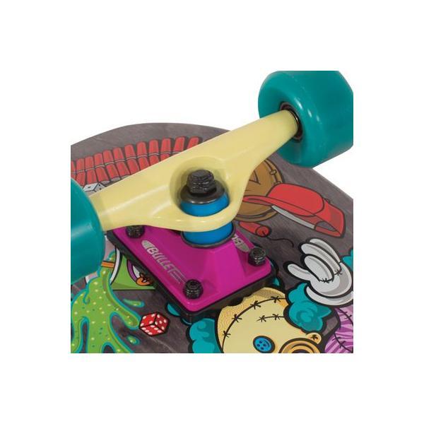 Santa Cruz Skate Simpsons Bart Toybox Mini Cruzer Skateboard Deck (26x8.8-Inch)  サンタクルズ クルーザー スケートボード collc 02