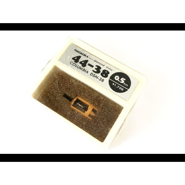 W3468N☆NAGAOKA 44-38 COLUMBIA DSN-38 diamond stylus カートリッジ交換針 ナガオカ☆0809【新品】