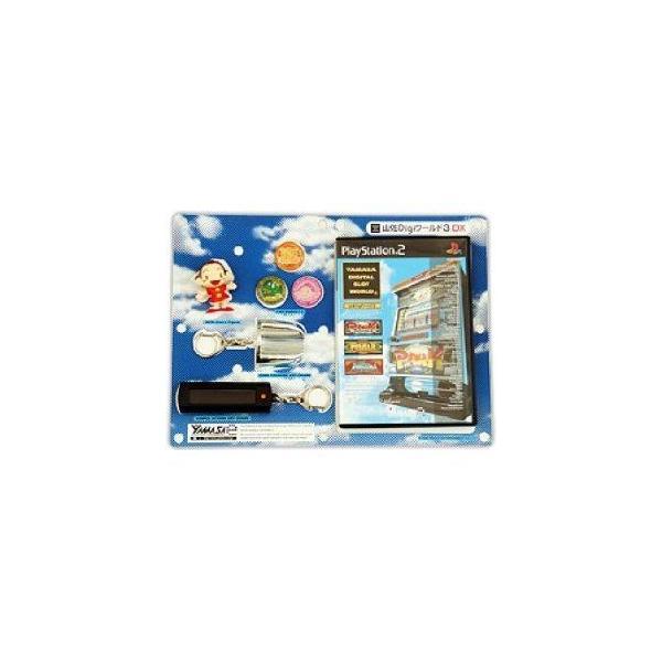 山佐デジワールド3 DX版(キーチェーン2個・フィギア・缶バッジ3個同梱) [PS2]の画像