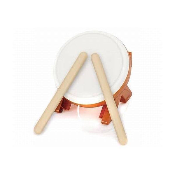 太鼓とバチ(「太鼓の達人Wii/WiiU」専用太鼓コントローラ)の画像