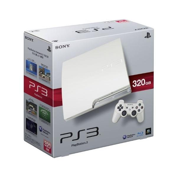 PlayStation3本体 320GB クラシック・ホワイトの画像