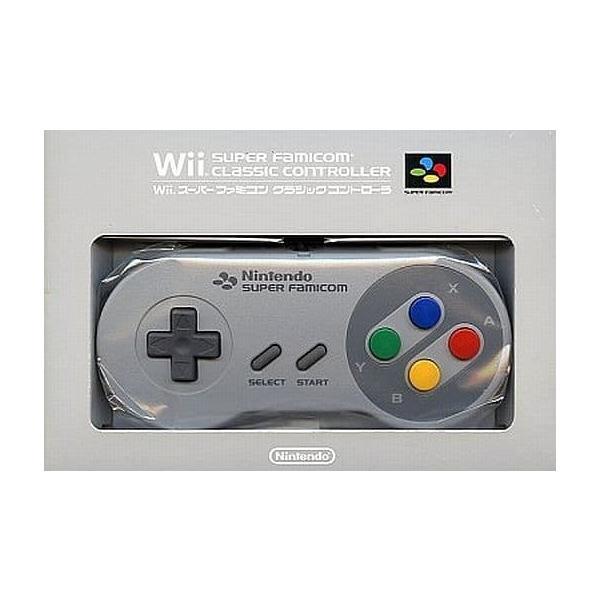 Wiiスーパーファミコンクラシックコントローラー(中古品)