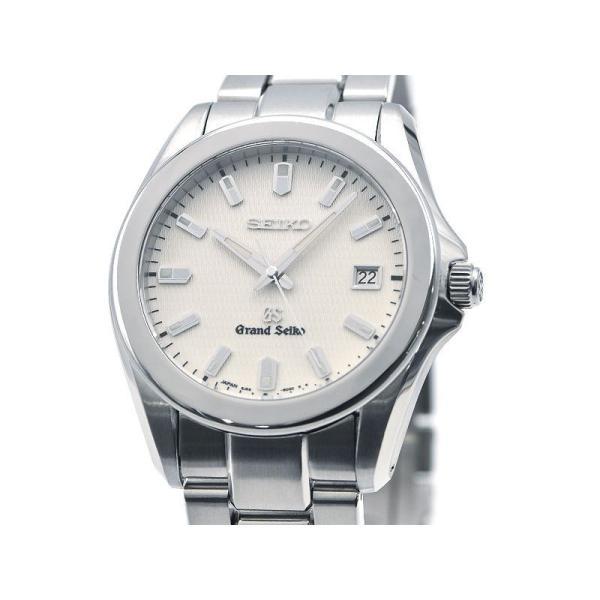 グランドセイコーメンズSBGF0178J56-8020電池交換/新品仕上済白文字盤ホワイトダイヤルクオーツ腕時計中古